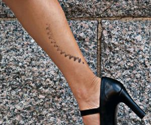 lady-legs-with-cycle-chainring-tattoo-on-leg